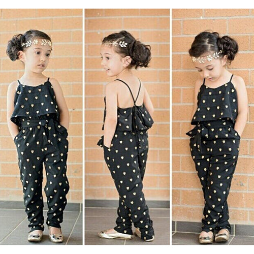 Heart 2 Piece Jumpsuit