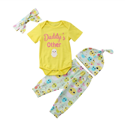 Girls Easter For Dad Outfit