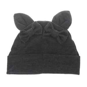 Cotton Bow Knot Kids Hat