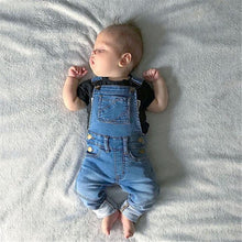 Load image into Gallery viewer, Jean Overalls