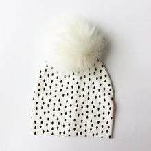Load image into Gallery viewer, Artificial Fox Fur Cotton Hat