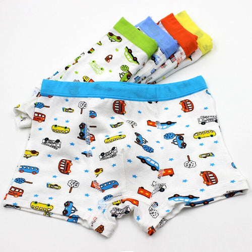 5pcs/lot Boys Boxers