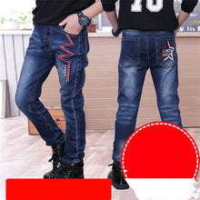 Load image into Gallery viewer, Boy's Thick Designer Jeans