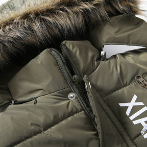 Thick Winter Collar Coat
