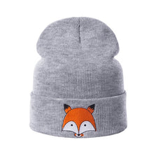 Load image into Gallery viewer, Fox Beanie