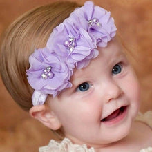 Load image into Gallery viewer, Girls Flower Headband