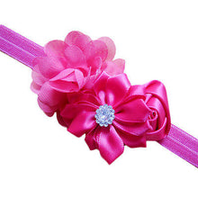 Load image into Gallery viewer, Baby Girl Flower Headband