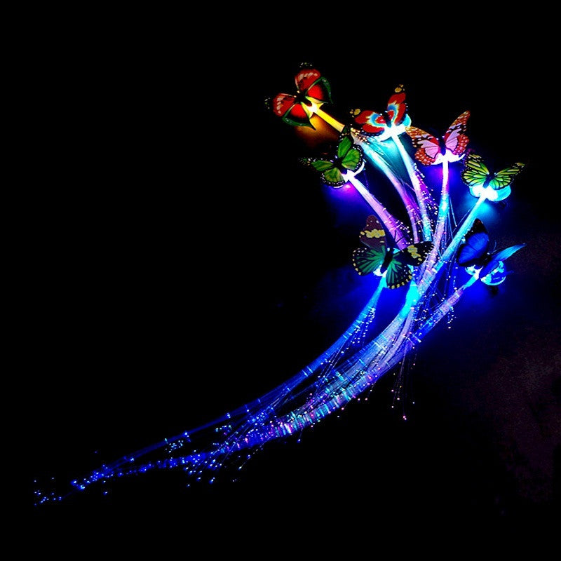 LED Butterfly Hairpin