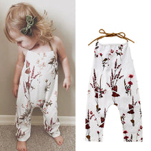 Load image into Gallery viewer, Toddler Girls Springtime Romper