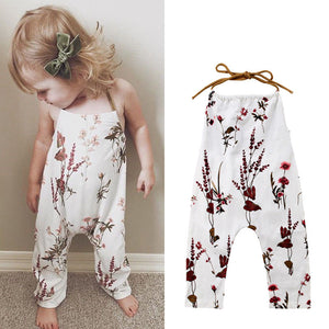 Toddler Girls Springtime Romper