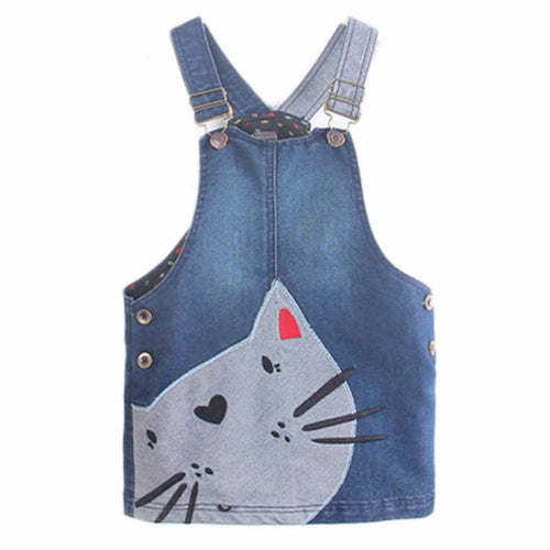 Girls Summer Denim Dress