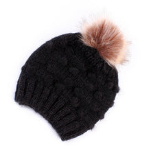 Load image into Gallery viewer, Baby Knit Pom Beanie