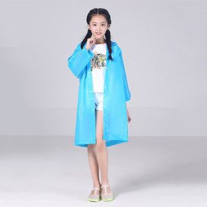 Student Waterproof Raincoat For Kids