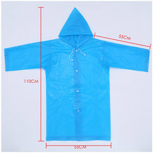 Load image into Gallery viewer, Student Waterproof Raincoat For Kids