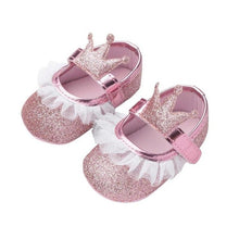 Load image into Gallery viewer, Anti-skid Soft Lace Princess Shoes