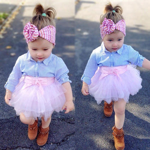 Cotton and Lace Tutu with Shirt