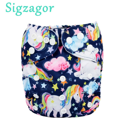 Cartoon Reusable Diaper