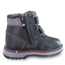 Load image into Gallery viewer, Boys Winter Strap Snow Boots