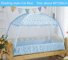 Load image into Gallery viewer, Kids Mosquito Net Bed