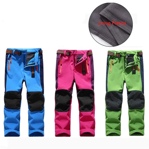 Fleece Lined Snow Pants