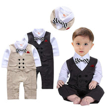 Load image into Gallery viewer, Toddler Gentleman Suit Set