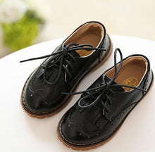 Load image into Gallery viewer, Vintage Tassel Leather Dress Shoes