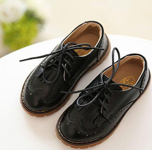 Vintage Tassel Leather Dress Shoes