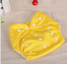 Load image into Gallery viewer, Solid Color Reusable Diaper
