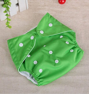 Solid Color Reusable Diaper