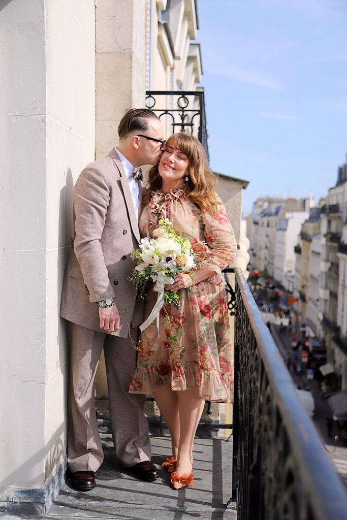 Swedish ELLE's Fashion Editor: a wedding in Paris