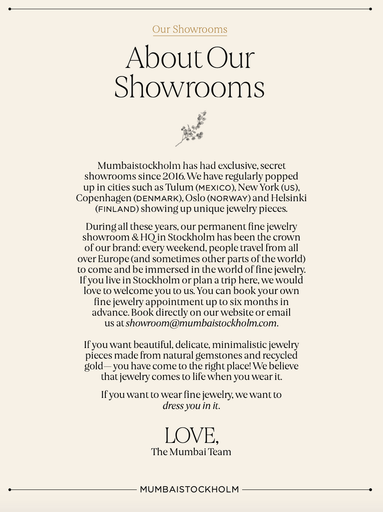 About The Showrooms