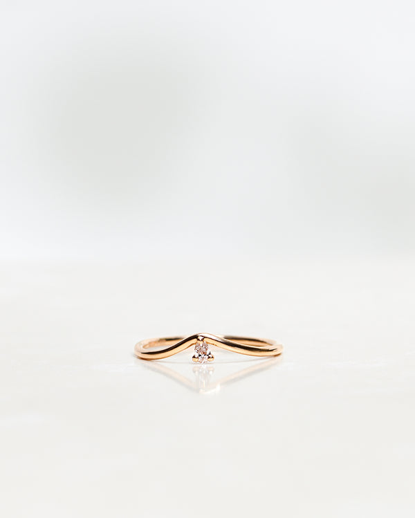 Lily Fallen Drop Ring
