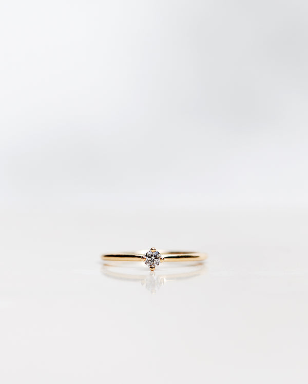 Not So Tiny Diamond Ring (0.10 CT)