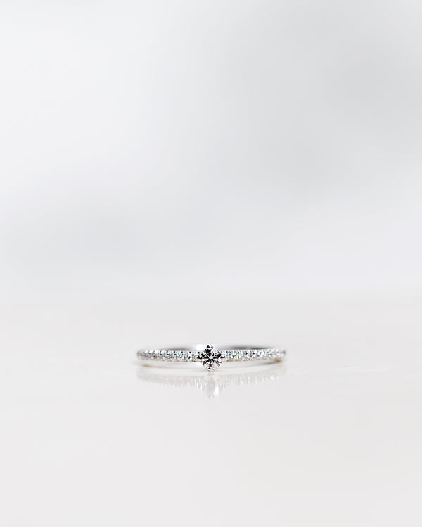 Not So Tiny Sparkle Ring (Total 0.20 CT)
