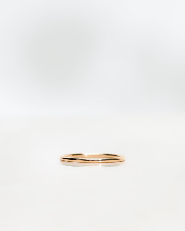Plain Round Gold Band 1.3 mm