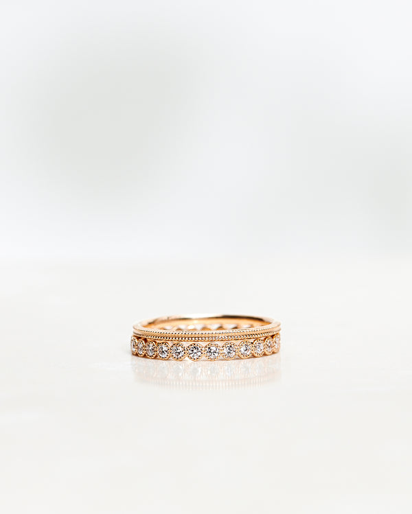 Astrid Vintage Diamond Band (0.54 CT)