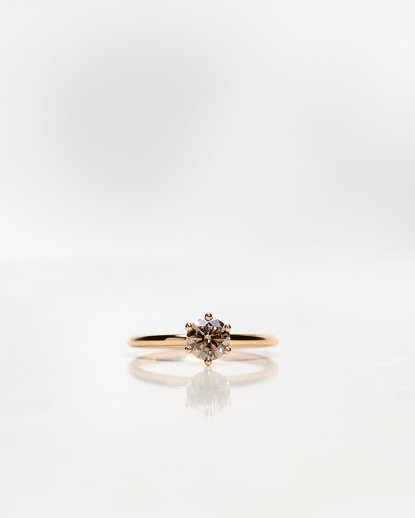 The Solitaire Chocolate Diamond 0.30-1.0 CT