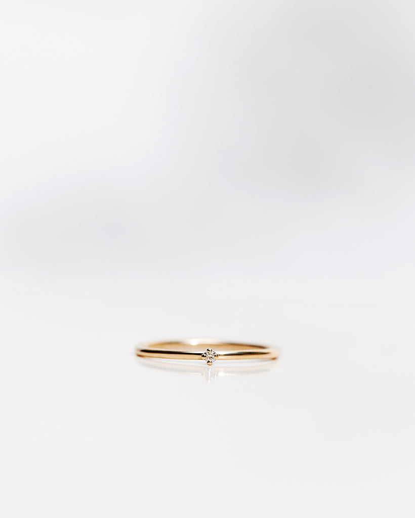 Tiny Diamond Ring (0.02 CT)