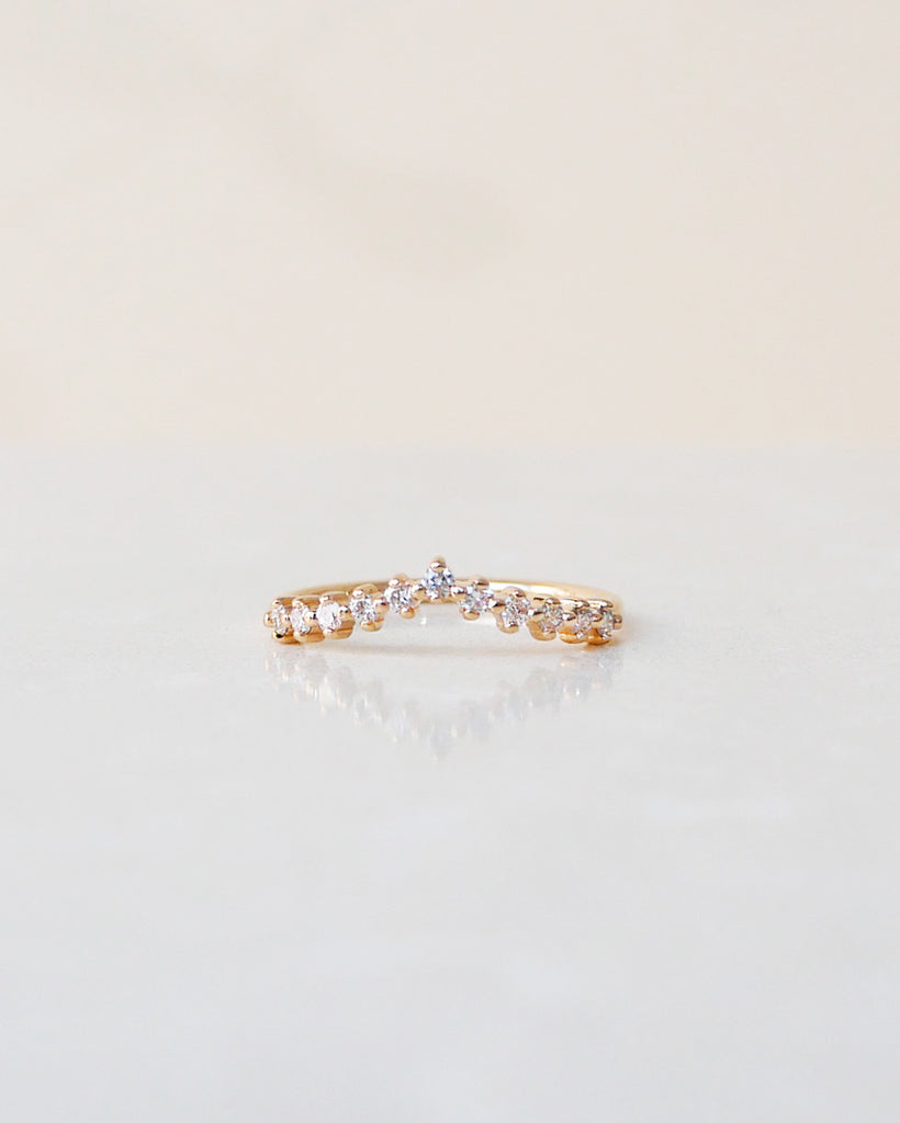 Diamond Triangle Ring (Previously Vintage Triangle Ring)