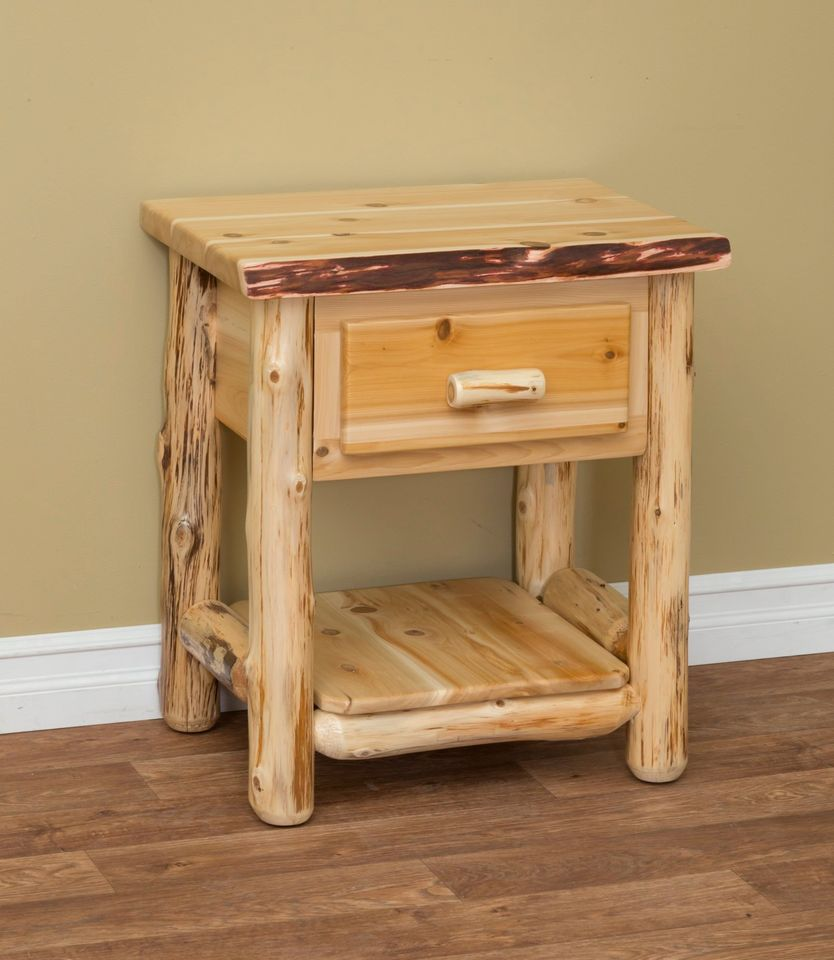 Log Night Stands
