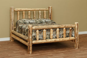 Amish Log beds