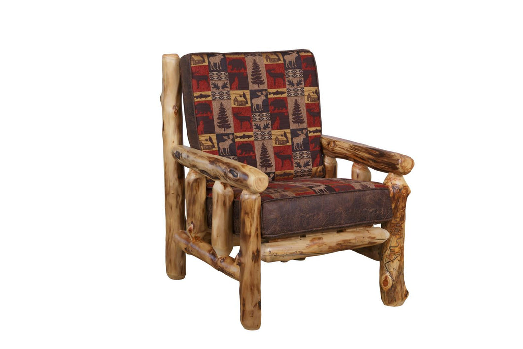 Amish Handmade Log Chairs