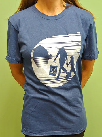 Recycled Material T-Shirt Iconic Beach