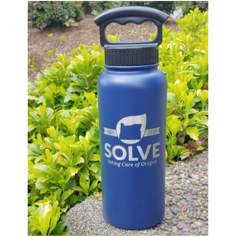 Water Bottle Fifty/Fifty - Navy