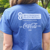 Recycled Material Blue T-Shirt (Limited Sizes)