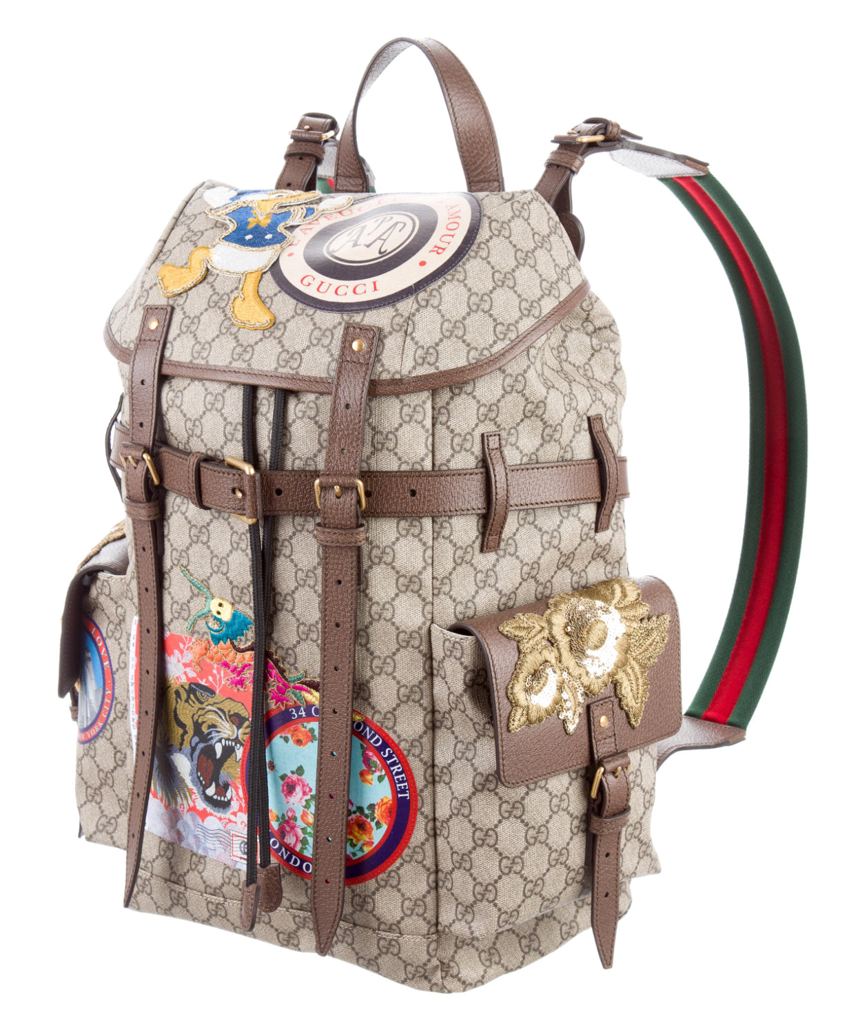 Gucci Courrier soft GG Supreme backpack – DopeATLaccessory d4f95ea0d407f
