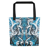 Divine Blue #1 Tote bag