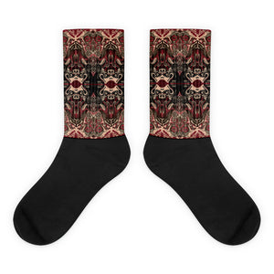 Fractal Motion V.2 Socks