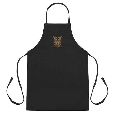 Amaizink Embroidered Apron (Gold)
