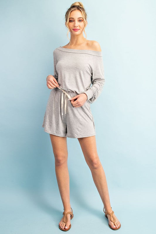 NEW EESOME Grey Romper.